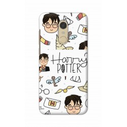 Crafting Crow Mobile Back Cover For Xiaomi Redmi Note 5 - Harry