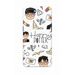 Crafting Crow Mobile Back Cover For Oppo K1 - Harry