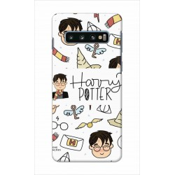 Crafting Crow Mobile Back Cover For Samsung Galaxy S10 Plus - Harry