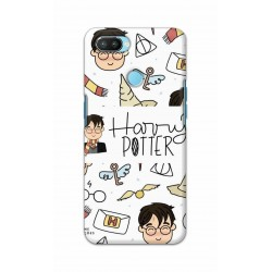 Crafting Crow Mobile Back Cover For Oppo Realme 2 Pro - Harry