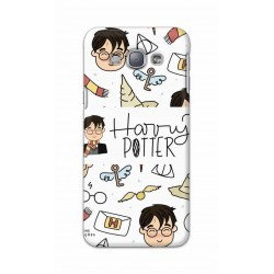 Crafting Crow Mobile Back Cover For Samsung Galaxy A8 - Harry