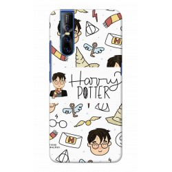 Crafting Crow Mobile Back Cover For Vivo V15 Pro - Harry