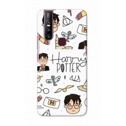 Crafting Crow Mobile Back Cover For Vivo V15 - Harry