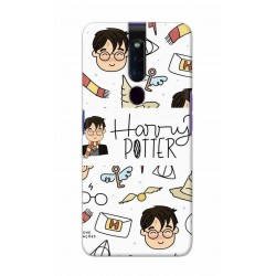 Crafting Crow Mobile Back Cover For Oppo F11 Pro - Harry