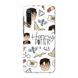 Crafting Crow Mobile Back Cover For Xiaomi Mi 9 - Harry