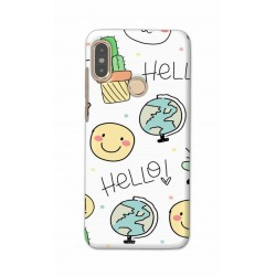 Crafting Crow Mobile Back Cover For Xiaomi Redmi Note 5 Pro - Hello
