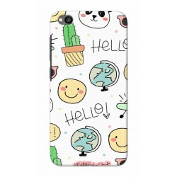 Crafting Crow Mobile Back Cover For Xiaomi Redmi Go - Hello