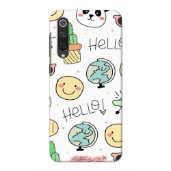 Crafting Crow Mobile Back Cover For Xiaomi Mi 9 SE - Hello