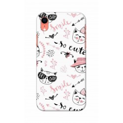 Crafting Crow Mobile Back Cover For Apple Iphone XR - Kitty