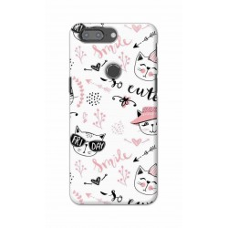 Crafting Crow Mobile Back Cover For One Plus 5t - Kitty