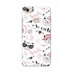 Crafting Crow Mobile Back Cover For Vivo V7 Plus - Kitty
