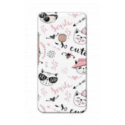 Crafting Crow Mobile Back Cover For Vivo Y83 - Kitty