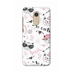 Crafting Crow Mobile Back Cover For Xiaomi Redmi Note 5 - Kitty
