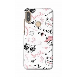 Crafting Crow Mobile Back Cover For Xiaomi Redmi Note 5 Pro - Kitty
