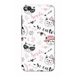 Crafting Crow Mobile Back Cover For Xiaomi Redmi Go - Kitty