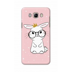 Crafting Crow Mobile Back Cover For Samsung Galaxy J8 - Nerd Rabbit