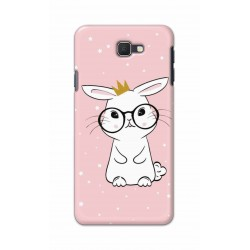 Crafting Crow Mobile Back Cover For Samsung Galaxy J7 Prime - Nerd Rabbit