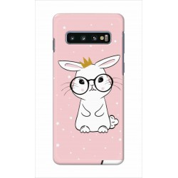 Crafting Crow Mobile Back Cover For Samsung Galaxy S10 - Nerd Rabbit