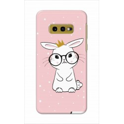 Crafting Crow Mobile Back Cover For Samsung Galaxy S10e - Nerd Rabbit