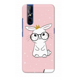 Crafting Crow Mobile Back Cover For Vivo V15 Pro - Nerd Rabbit