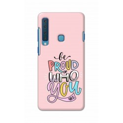 Crafting Crow Mobile Back Cover For Samsung Galaxy A9 2018 - Be Proud