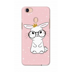 Crafting Crow Mobile Back Cover For Oppo F5 - Nerd Rabbit
