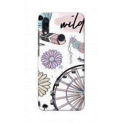 Crafting Crow Mobile Back Cover For Xiaomi Redmi Note 7 - Wild
