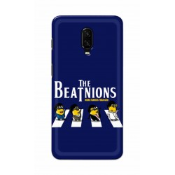 Crafting Crow Mobile Back Cover For One Plus 6t - Beatles Minion