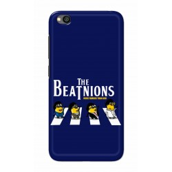 Crafting Crow Mobile Back Cover For Xiaomi Redmi Go - Beatles Minion