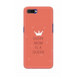 Crafting Crow Mobile Back Cover For Oppo K1 - Mom