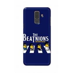 Crafting Crow Mobile Back Cover For Samsung A6 Plus - Beatles Minion