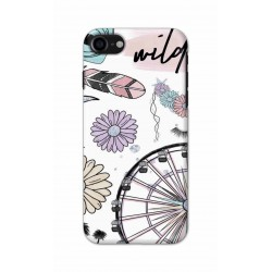 Crafting Crow Mobile Back Cover For Apple Iphone 8 - Wild