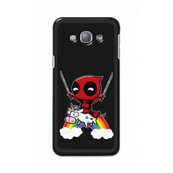 Crafting Crow Mobile Back Cover For Samsung Galaxy A8 - Deadpool