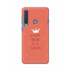 Crafting Crow Mobile Back Cover For Samsung Galaxy A9 2018 - Mom