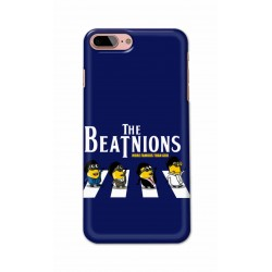 Crafting Crow Mobile Back Cover For Apple Iphone 8 Plus - Beatles Minion