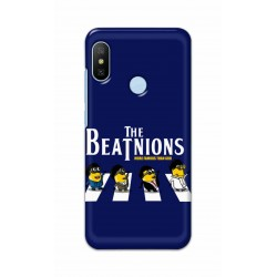 Crafting Crow Mobile Back Cover For Xiaomi Mi A2 - Beatles Minion
