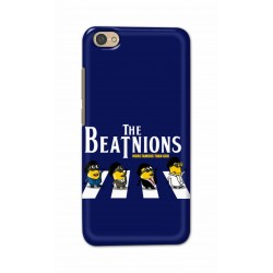 Crafting Crow Mobile Back Cover For Xiaomi Redmi Y1 Lite - Beatles Minion