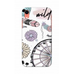 Crafting Crow Mobile Back Cover For Apple Iphone XR - Wild