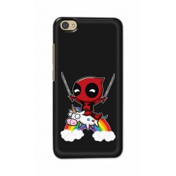 Crafting Crow Mobile Back Cover For Xiaomi Redmi Y1 Lite - Deadpool