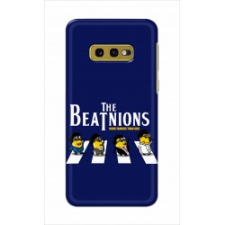 Crafting Crow Mobile Back Cover For Samsung Galaxy S10e - Beatles Minion