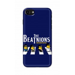 Crafting Crow Mobile Back Cover For Apple Iphone 8 - Beatles Minion