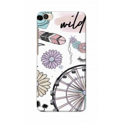 Crafting Crow Mobile Back Cover For Vivo Y55 - Wild