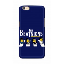 Crafting Crow Mobile Back Cover For Oppo A57 - Beatles Minion