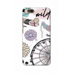 Crafting Crow Mobile Back Cover For Xiaomi Mi A1 - Wild