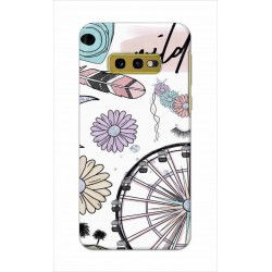 Crafting Crow Mobile Back Cover For Samsung Galaxy S10e - Wild