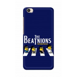 Crafting Crow Mobile Back Cover For Vivo Y55 - Beatles Minion