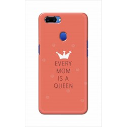 Crafting Crow Mobile Back Cover For Oppo A5 - Mom