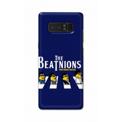 Crafting Crow Mobile Back Cover For Samsung Note 8 - Beatles Minion