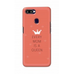 Crafting Crow Mobile Back Cover For Oppo F9 - Mom