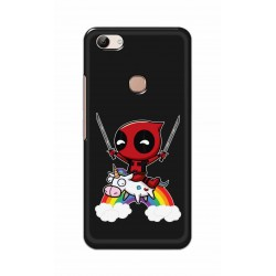 Crafting Crow Mobile Back Cover For Vivo Y83 - Deadpool